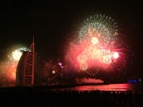 New Year's Eve in Burj Al Arab